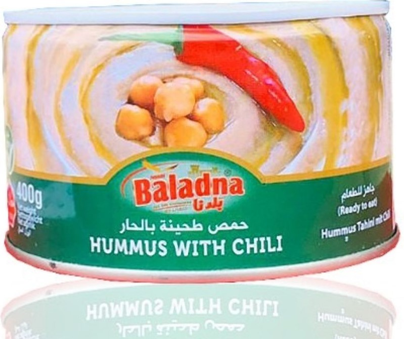 Baladna Hommus mit Sesampaste 400g حمص بالطحينة بلدنا