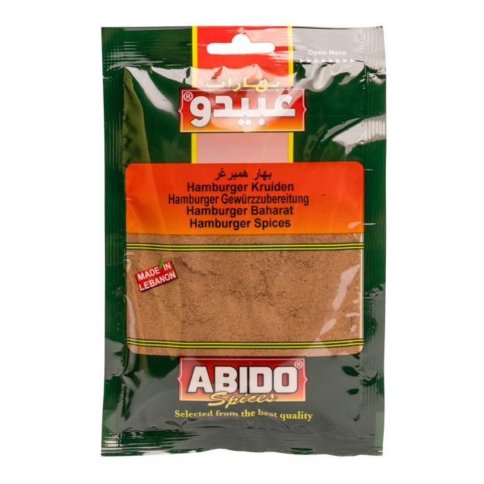 Abido Hamburger Gewürz/Lebanon 50g بهارات همبرغر عبيدو