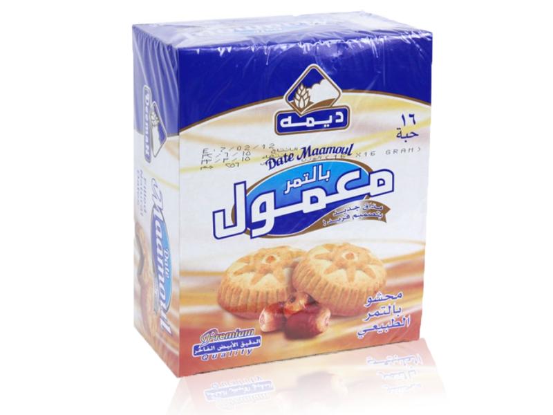 Deemah Maamol gefüllt mit Datteln 336g  معمول  بالتمر  ديمه