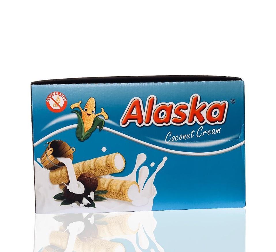 Alaska Milch/ Kokosnuss Cream 48x18g  864g شوكولا بالحليب الاسكا