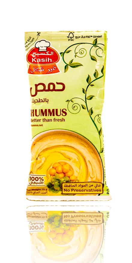 Kasih Hommus mit Sesampaste 70g  حمص بالطحينة الكسيح