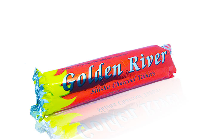 golden  فحم سريع الاشتعال