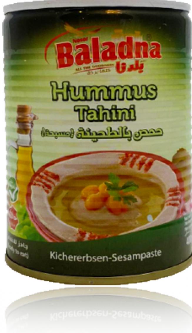 Baladna Hommus mit Sesampaste 400g