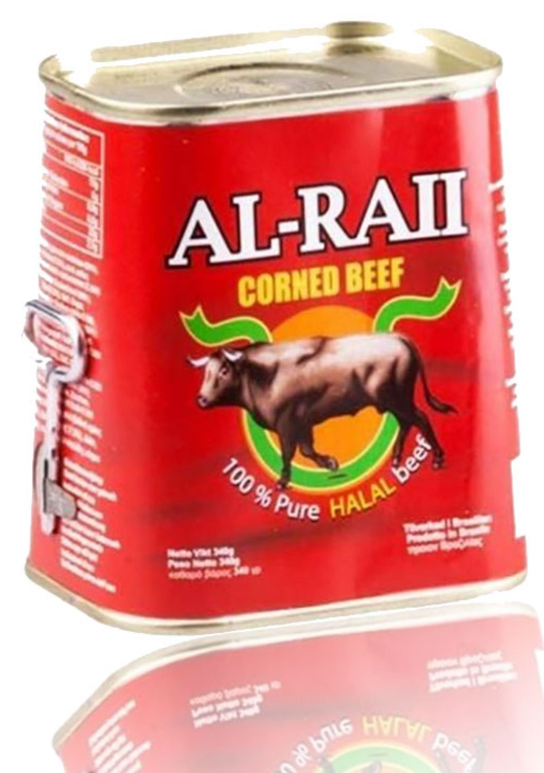 Al Raii Corned Beef Brazil 198g الراعي كورن بيف لحم  بقر