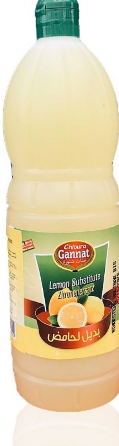 Ganat Chtoura saurer Zitronenkonzentrat1Liter بديل الحامض