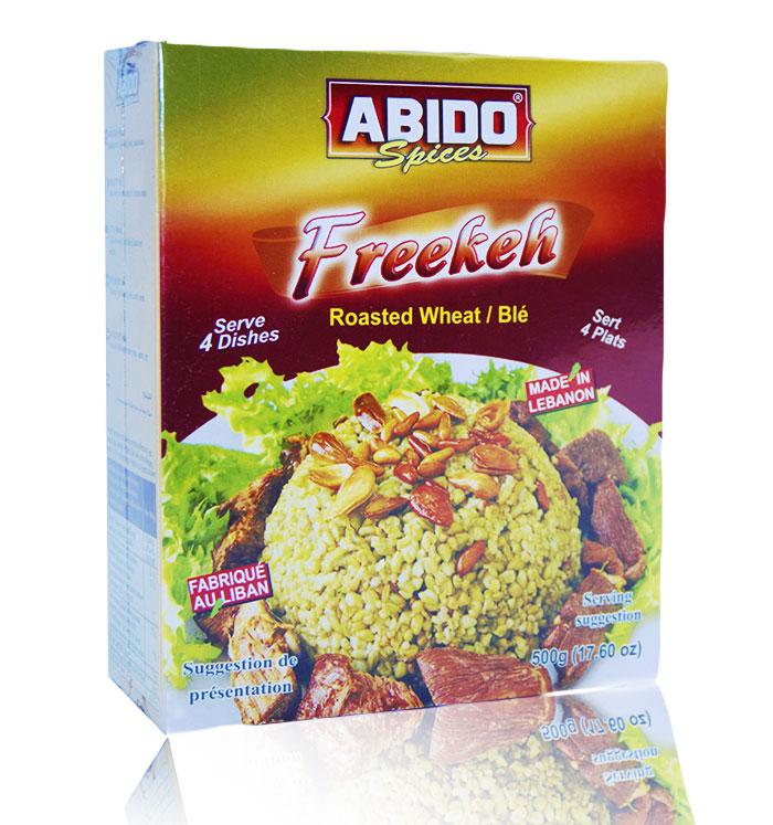 Abido  Weizen Körner(Freekeh) 500g /Lebanon فريكة عبيدو