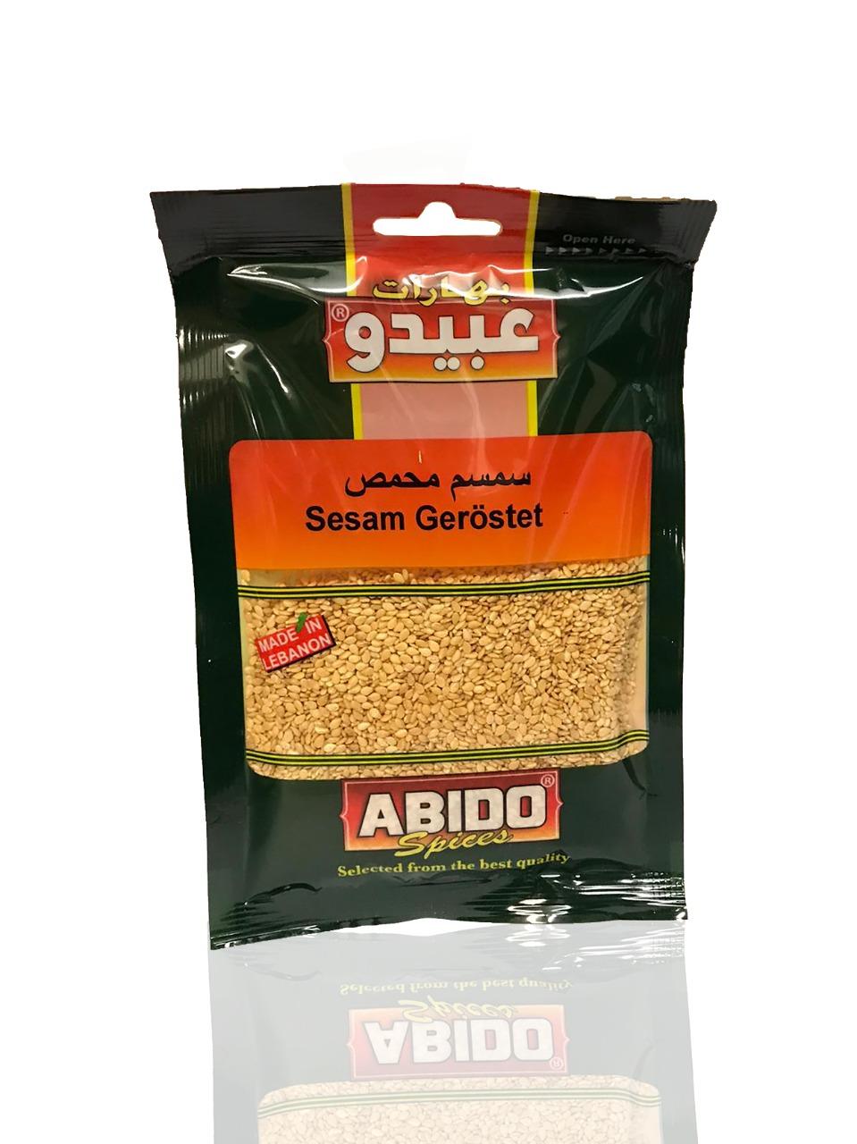 Abido Sesam geröstet 50g  سمسم محمص عبيدو