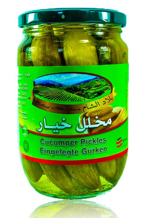 Bilad Alscham Eing. Gurken 650g كبيس خيار بلاد الشام