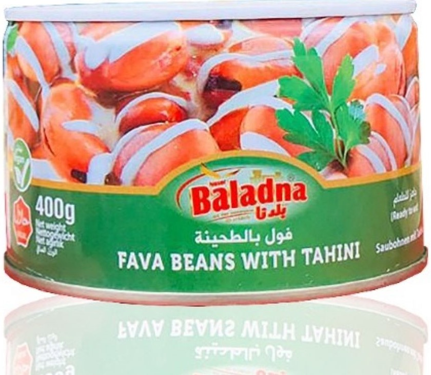 Baladna Saubohnen mit Tahina 400g  فول مع طحينة بلدنا