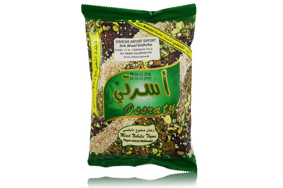 Osrati Gemischt grün Thymian Nabulsi/Lebanon 400g
