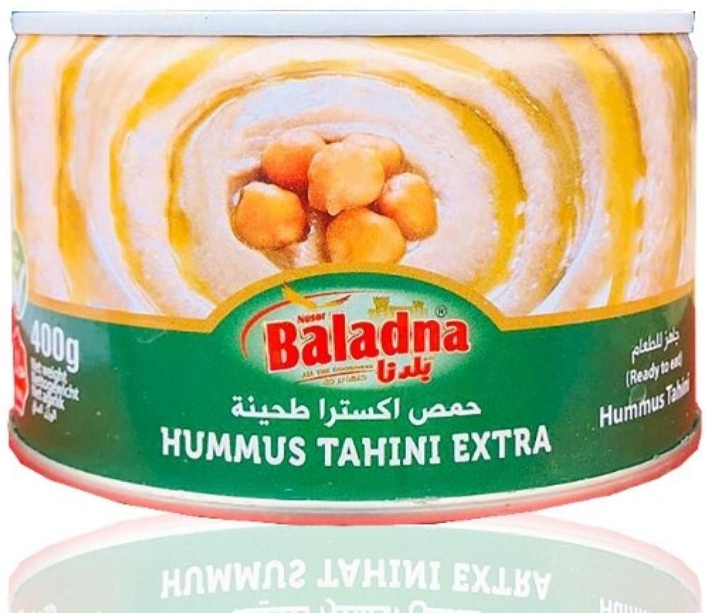 Baladna Hummus mit Sesampaste 400g