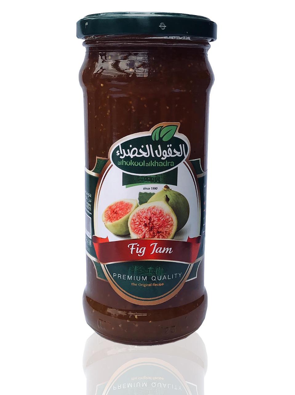 Al Hokool Al Khadraa Feigenmarmelade 450g(*12) مربى التين الحقول الخضراء