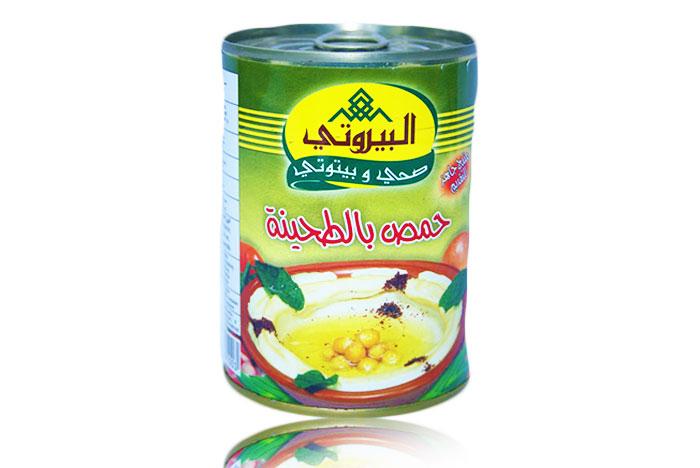 Al Bayroty (Hommus Mit Sesampaste)380g حمص بالطحينة البيروتي