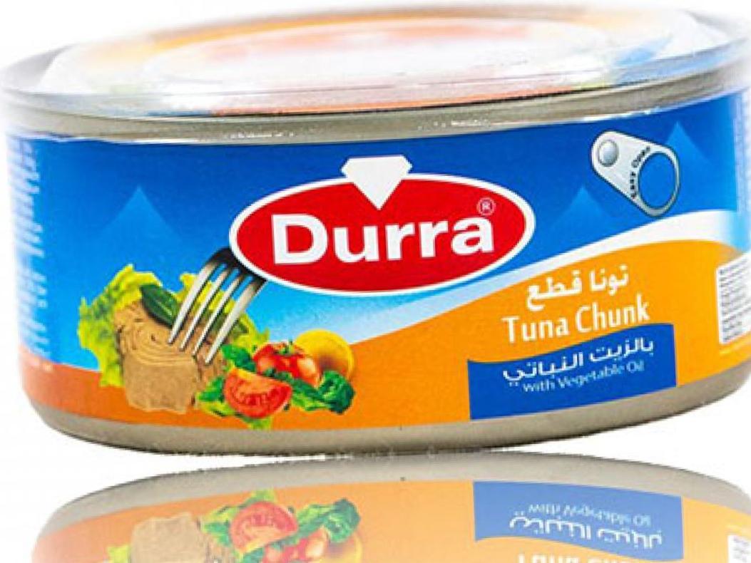 Durra Thunfisch in Pflanzenöl 160g تونا بالزيت النباتي الدرة