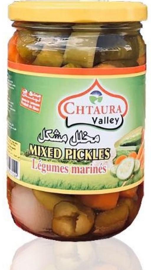 CHTAURA valley Eingelegtes Gemüse Mix (gemischt) مخلل مشكل شتورة فالي