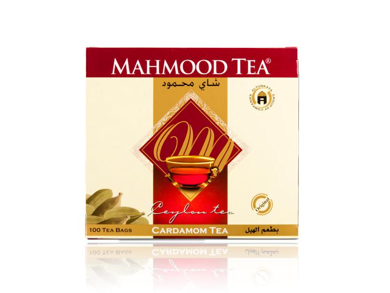 Mahmood Schwarzer Tee Ceylon Mit Cardamon Aroma/Sri Lanka 100x2g/200g