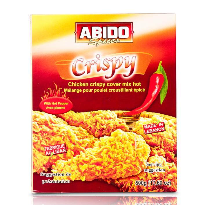Abido Crispy Scharf 500gr خلطة كرسبي حر