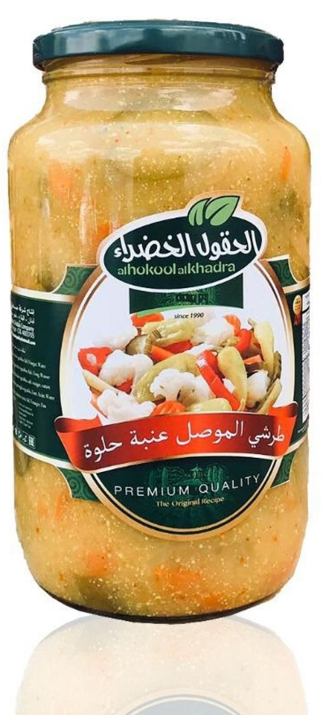 Al hokool Alkhadraa Anba  - Gemüse Mix (mild) 1260g   طرشي النجف الحقول الخضراء
