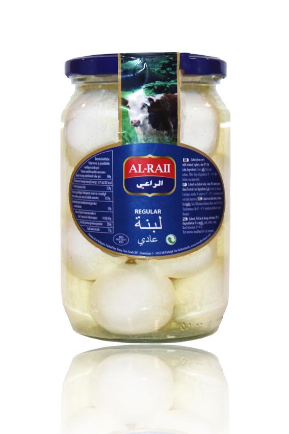 Al Raii Labneh Regular 425g لبنة  بالزيت سادة الراعي