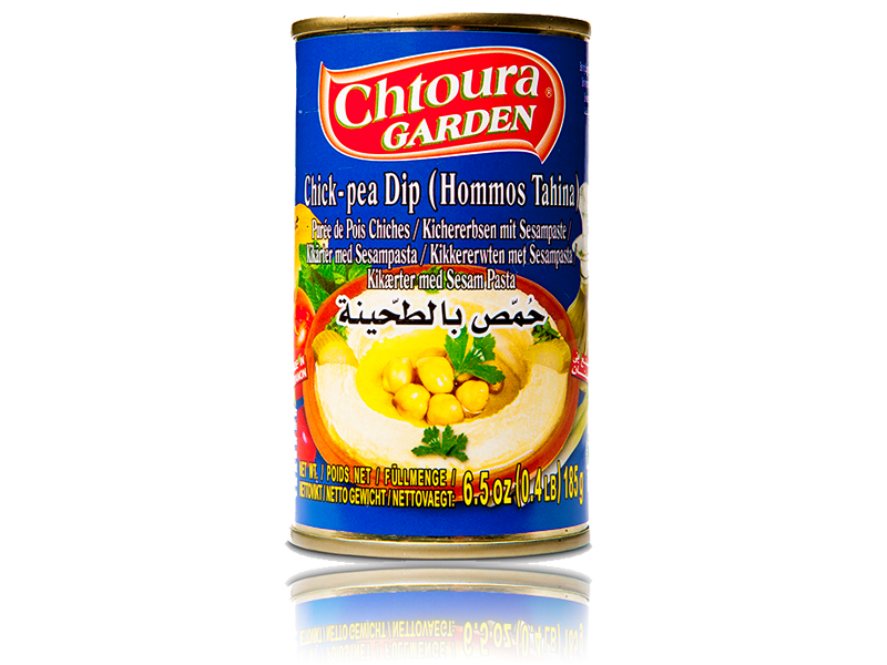Chtoura Garden Hommus Sesampaste 185g حمص بالطحينة حدائق شتورة