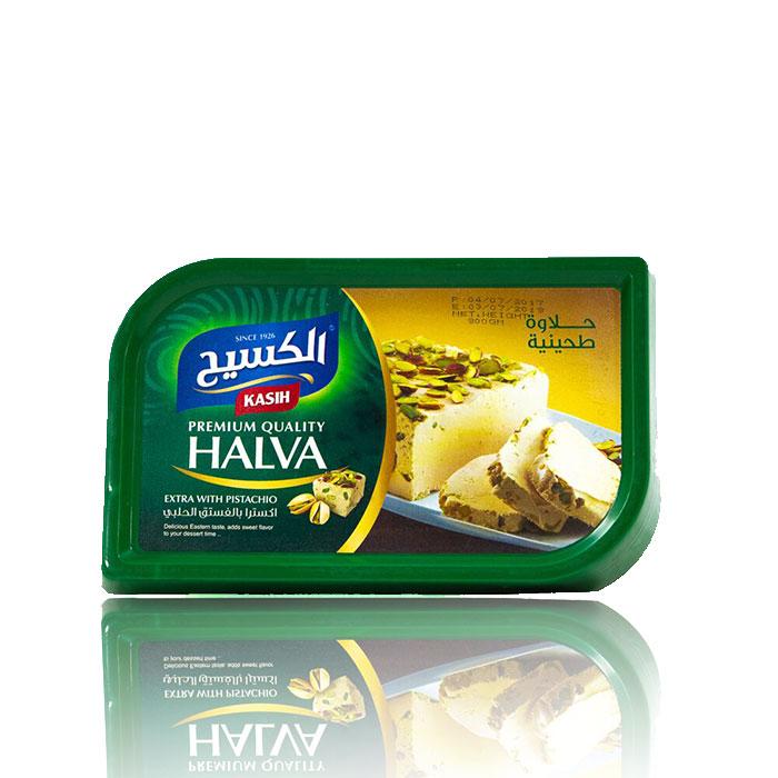 Kasih Halwa Pistazien 800g حلاوة الكسيح بالفستق
