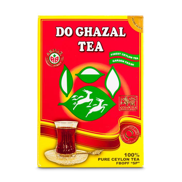 Do Ghazal Schwarz Tee Ceylon Beutel Tee/Sri Lanka(Rot)500g شاي دوغزال