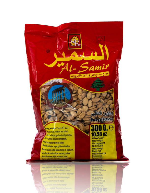 Al-Samir Melonenkerne 300g  السمير بزر مصري سوبر