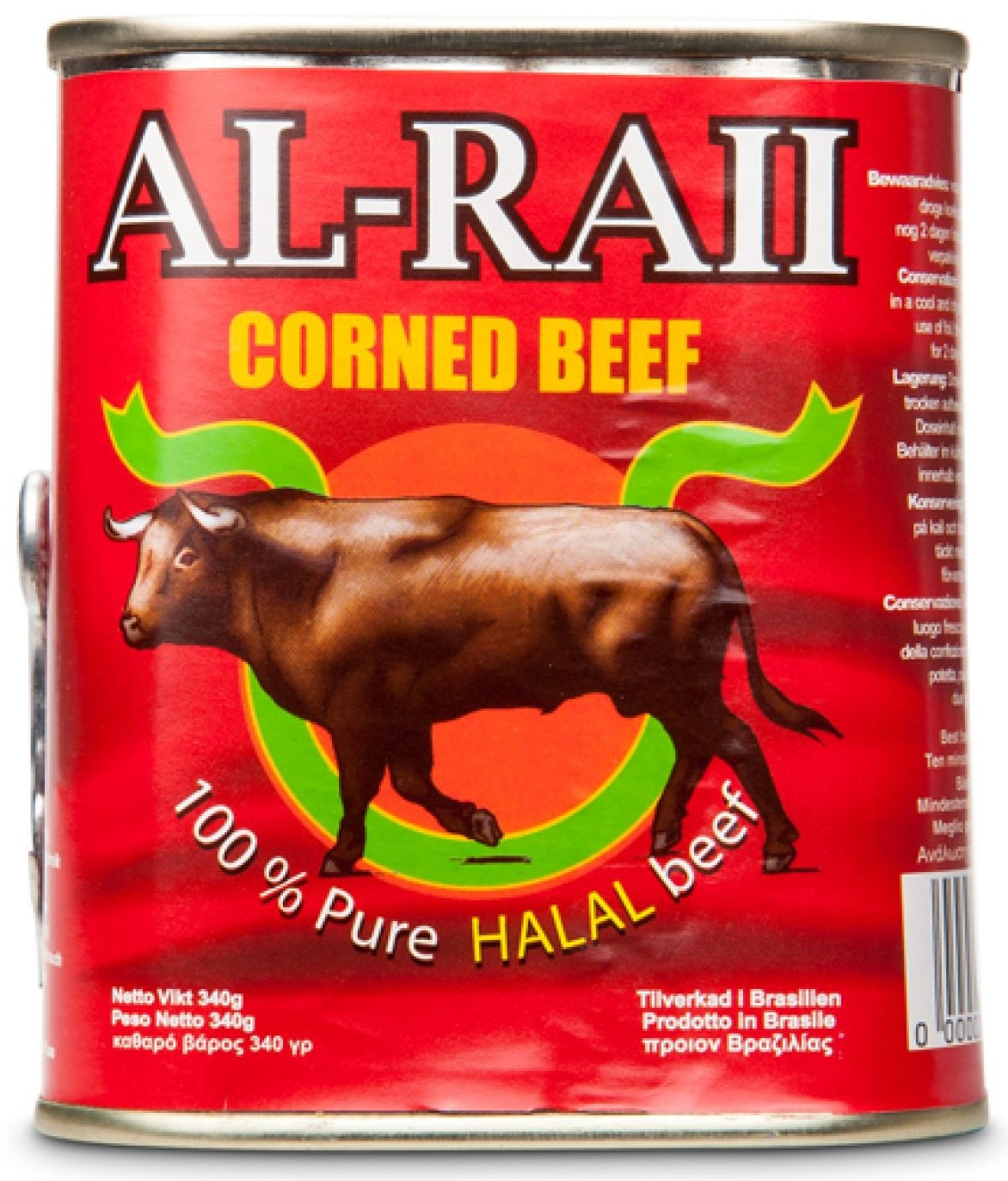 Al Raii Corned Beef Brazil 340g الراعي كورن بيف