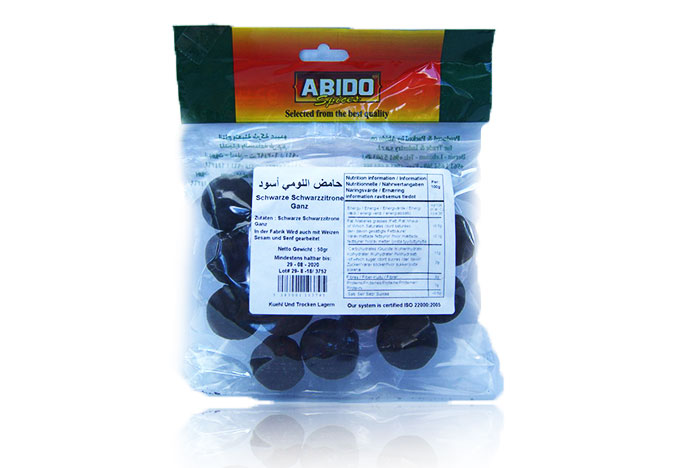 Abido schwarze Schwarzzitrone/Lebanon 50g حامض اللومي اسودعبيدو