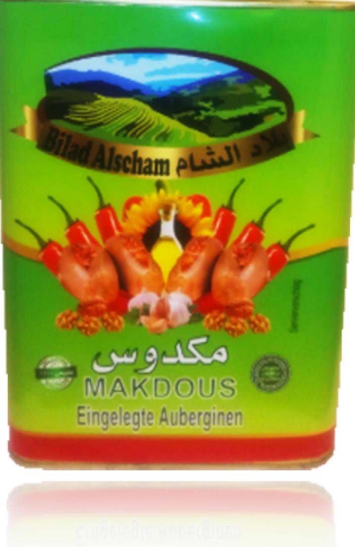 Bilad Alscham Eing. Auberginien(Makdus) 7kg مكدوس بلاد الشام