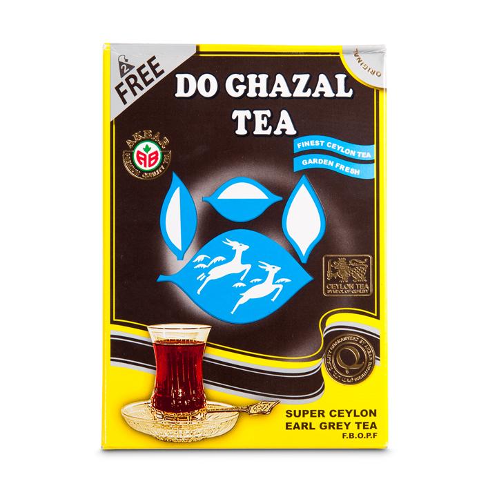 Do Ghazal Schwarz Tee Ceylon/Earlgray Aroma/Sri Lanka(Schwarzer)500g  شاي اسود معطر دوغزال