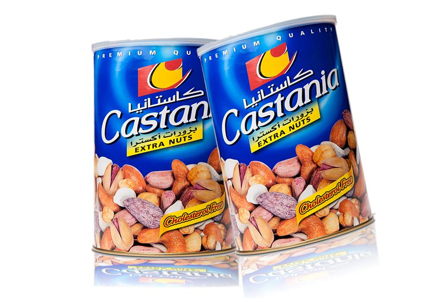 Castania Extra Mix nuts (Blau) 450g