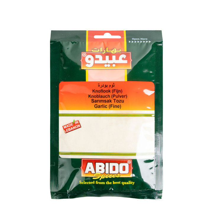 Abido  Knoblauch Fein/Powder/Lebanon 50g