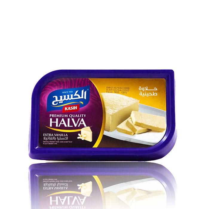 Kasih Halawa (Extra Vanille) 800g  حلاوة  سادة  الكسيح